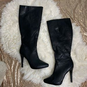 [Jessica Simpson] Knee High Stiletto Heel Boots